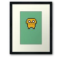 8-bit Jake Framed Print