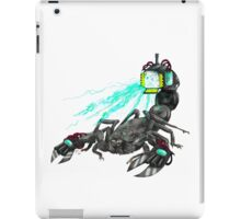 awesome laser scorpion iPad Case/Skin