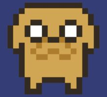 8-bit Jake by geraldbriones
