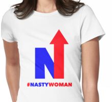 hashtag nasty woman Womens Fitted T-Shirt