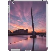 Early morning on the River Tawe iPad Case/Skin