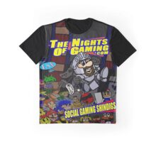 The Nights of gaming poster Graphic T-Shirt