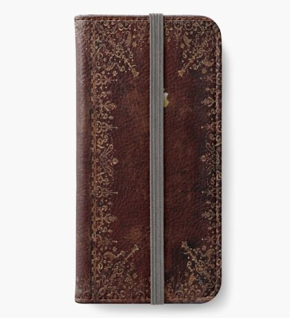 Apple - Book Cover iPhone Wallet/Case/Skin