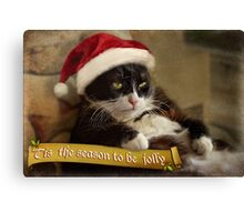 'Tis the season for Trouble Canvas Print