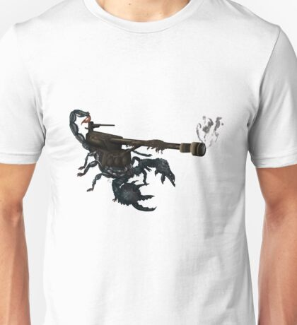 awesome tank cannon scorpion boom  Unisex T-Shirt