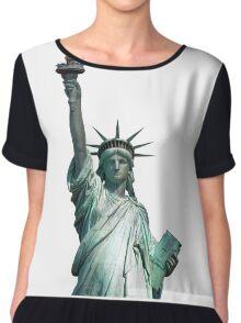 Statue of Liberty, New York, USA Chiffon Top