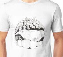 Crow with Pumpkins Unisex T-Shirt