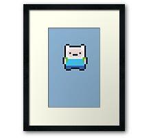 8-bit Finn Framed Print