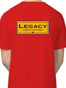 Legacy Back Logo  Classic T-Shirt