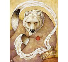 Healing Bear Photographic Print