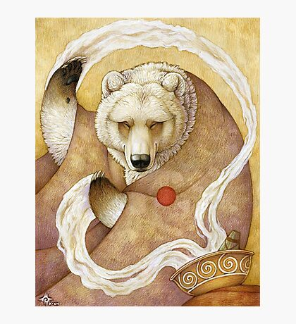 Healing Bear Photographic Print