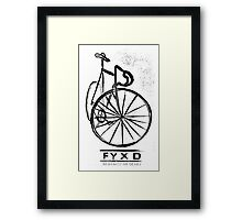 Fyxd invert Framed Print