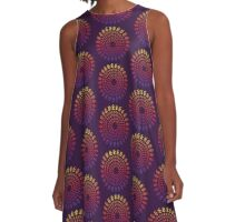 Abstract Pattern - Cycle A-Line Dress