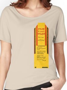 Film is not dead, smells funny Women's Relaxed Fit T-Shirt