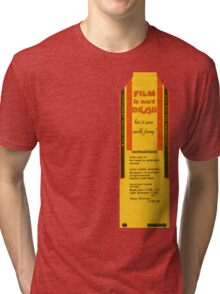 Film is not dead, smells funny Tri-blend T-Shirt
