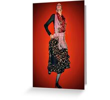 The Pride of Flamenco Greeting Card