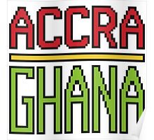Accra, Ghana Poster