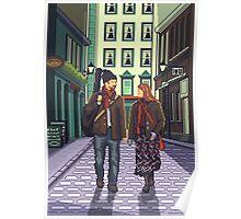 Once a pixelart Poster
