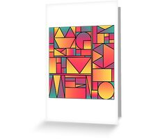 Kaku Cinco Greeting Card