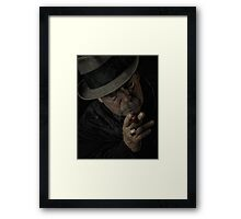 Tough Times Framed Print