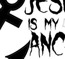 Anchor Christian Sticker