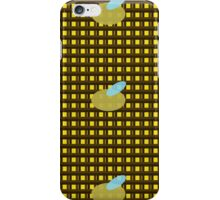Bumble Bee Grid iPhone Case/Skin