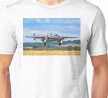 B-25J Mitchell 44-86893A N6123C taking off Unisex T-Shirt