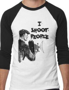 Vintage photographer Men's Baseball ¾ T-Shirt