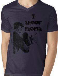 Vintage photographer Mens V-Neck T-Shirt