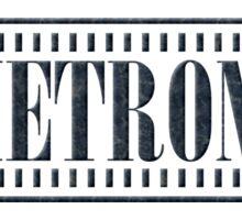 Black Metronome Sticker