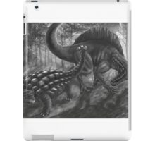 ankylo vs spinosaur iPad Case/Skin