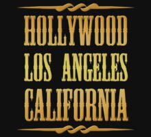 Golden Hollywood Kids Tee