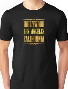 Golden Hollywood Unisex T-Shirt