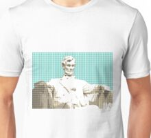 Lincoln Memorial - Light Blue Unisex T-Shirt