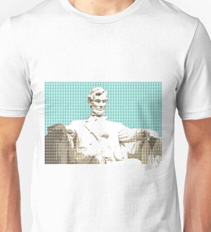 Lincoln Memorial - Light Blue Unisex T-Shirt