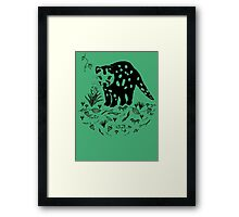 Marsupial Cat - The Spotted Tailed Quoll Framed Print