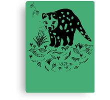 Marsupial Cat - The Spotted Tailed Quoll Canvas Print