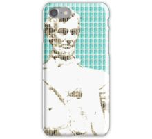 Lincoln Memorial - Light Blue iPhone Case/Skin
