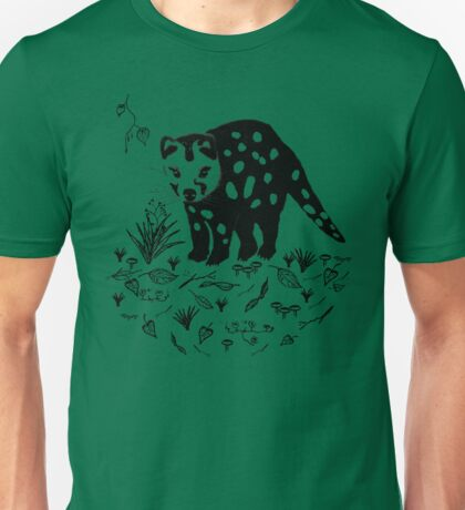Marsupial Cat - The Spotted Tailed Quoll Unisex T-Shirt