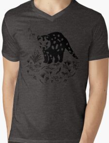 Marsupial Cat - The Spotted Tailed Quoll Mens V-Neck T-Shirt