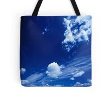 Cloudy Blue Tote Bag