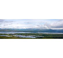 beautiful panorama from the kerry way Photographic Print