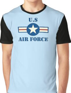Wonderful U.S Air Force Graphic T-Shirt