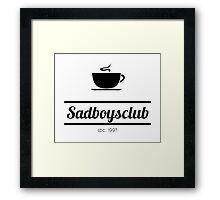 Sadboysclub {FULL} Framed Print