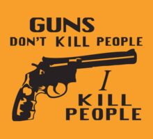 Happy Gilmore – Guns Don't Kill People, I Kill People by movieshirt4you