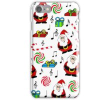 Chrismtas song iPhone Case/Skin