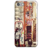 Art is Trash iPhone Case/Skin