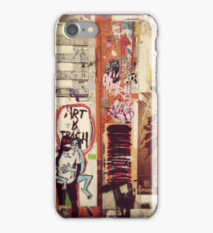 Art is Trash iPhone Case/Skin