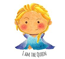I am the Queen Photographic Print
