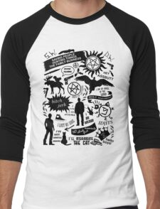 Supernatural items Men's Baseball ¾ T-Shirt